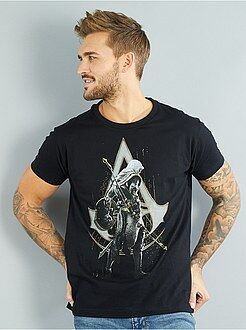 T-shirt imprimé - T-shirt imprimé 'Assassin's Creed' - Kiabi