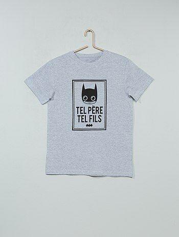 0bcf88e73c7 T-shirt imprimé  Batman  - Kiabi