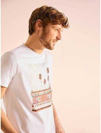 a56d2544b905c T-shirt homme, tee-shirt pas cher homme Vêtements homme | Kiabi