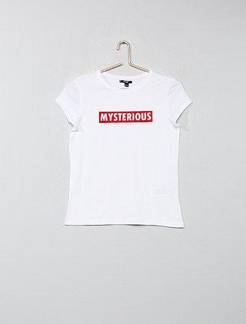 88ae8ac12524 Soldes t-shirt fille ado, top, débardeur adolescente Fille ...