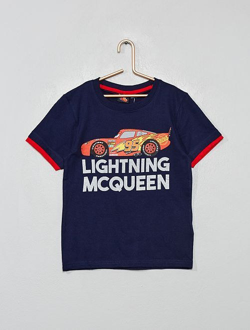T-shirt imprimé 'Cars'                                                     bleu marine