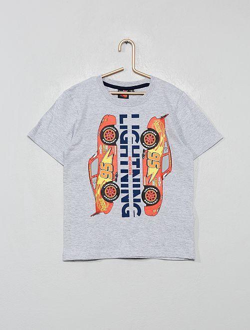T-shirt imprimé 'Cars'                                                     gris