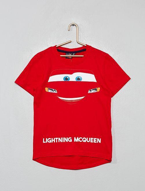 T-shirt imprimé 'Cars'                                                     rouge