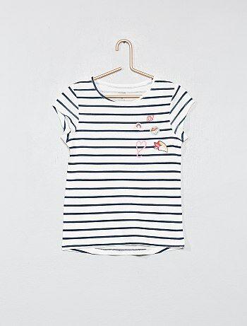 T-shirt imprimé coton bio