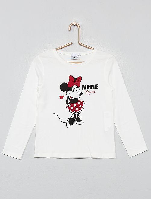 T-shirt imprimé 'Disney'                                                     Minnie Fille