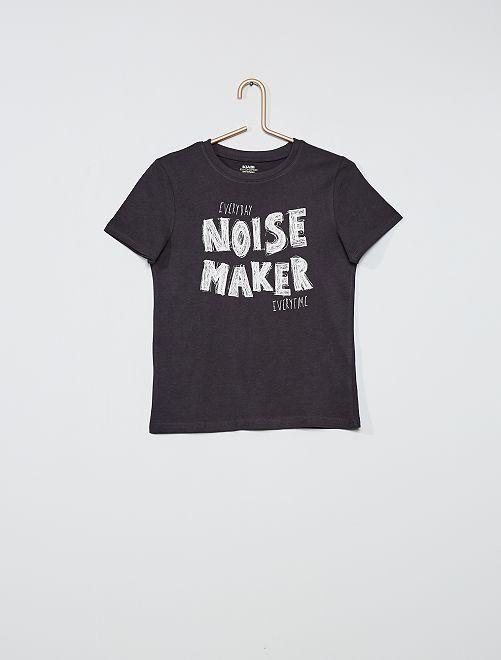 T-shirt imprimé éco-conçu                                                                 anthracite/graffiti