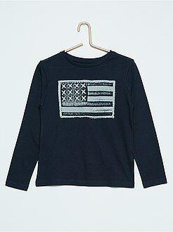 Garçon 3-12 ans T-shirt imprimé en coton