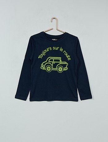 T shirt imprimé en coton