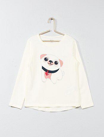 T-shirt imprimé fantaisie - Kiabi