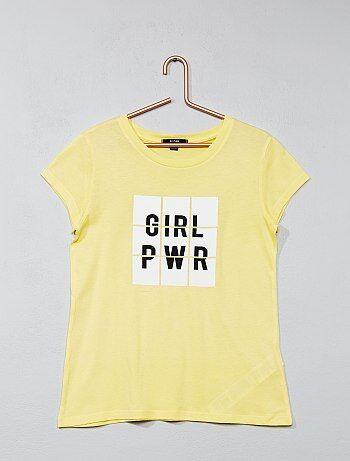 T shirt imprimé fantaisie