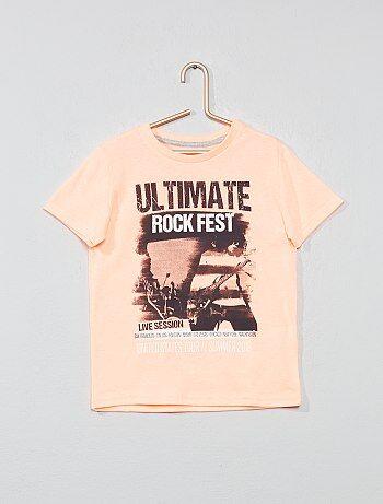 0714287312663 Garçon 3-12 ans - T-shirt imprimé fantaisie - Kiabi