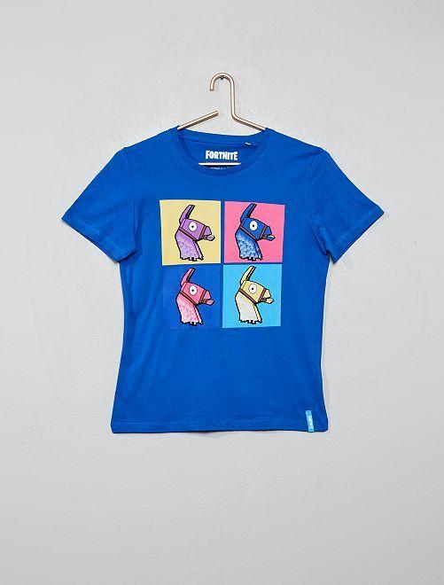 T-shirt imprimé 'Fortnite'                             bleu