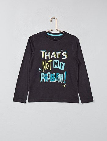 Garçon 3-12 ans - T-shirt imprimé - Kiabi