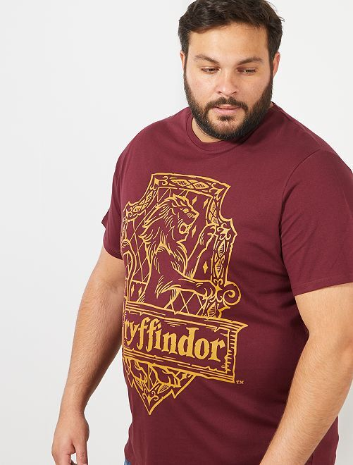T-shirt imprimé 'Harry Potter'                             bordeaux