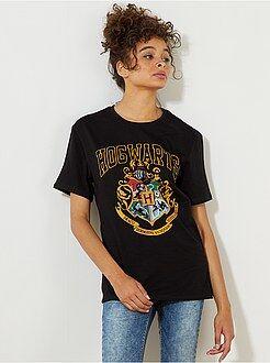 Femme du 34 au 48 - T-shirt imprimé 'Harry Potter' - Kiabi