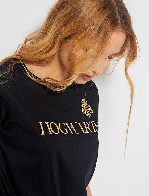 T-shirt imprimé 'Harry Potter'                             noir