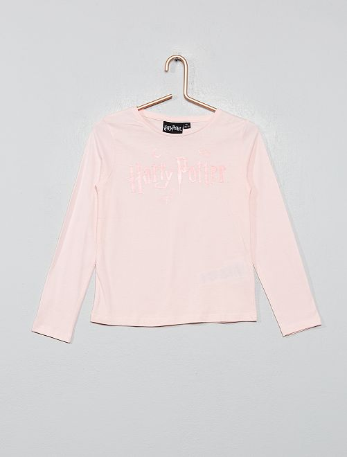 T-shirt imprimé 'Harry Potter'                             rose Fille