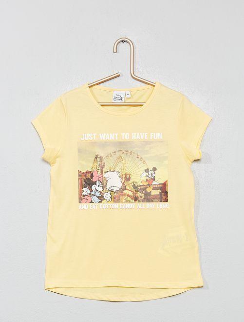 T-shirt imprimé 'La Reine des Neiges'                                         Minnie