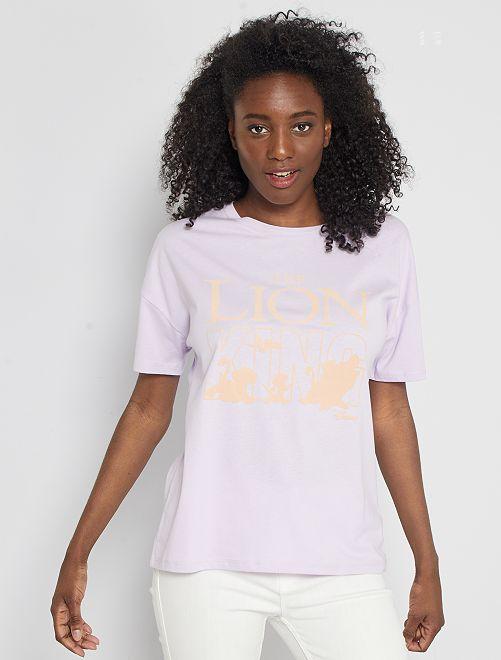 T-shirt imprimé 'Le Roi Lion'                                                                                                                             parme 'Roi Lion'