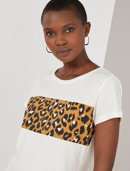 T-shirt imprimé léopard 'JDY'                                                                 léopard