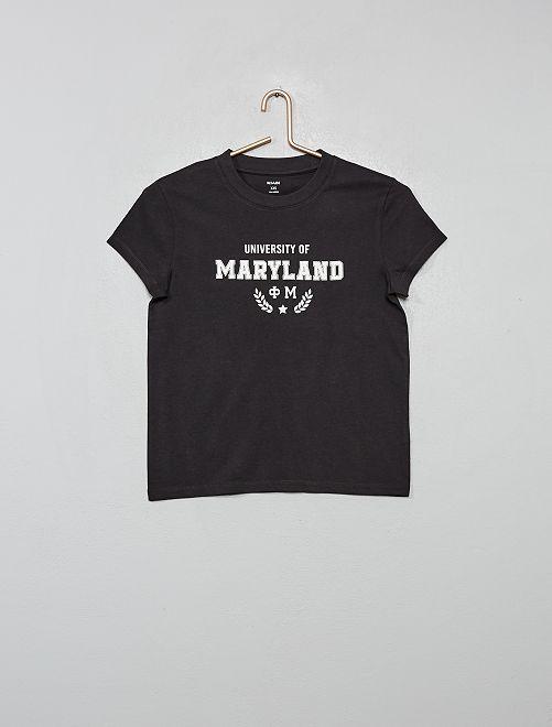 T-shirt imprimé 'Maryland'                                                                                                                                                     gris foncé