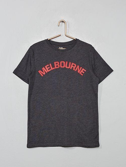 T-shirt imprimé 'Melbourne'                                                                                                                                                                 anthracite
