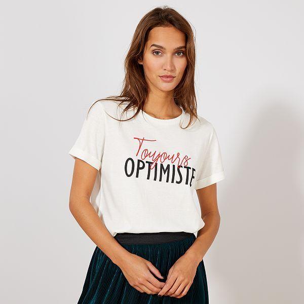 tee shirt femme imprimé