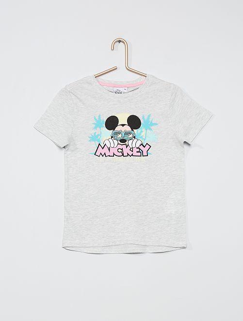 T-shirt imprimé 'Mickey'                             gris Mickey