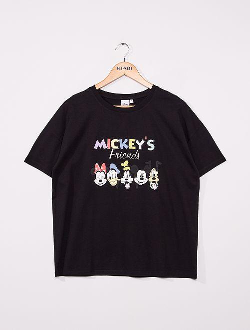 T-shirt imprimé 'Le Roi Lion'                                                                                 noir 'Mickey'
