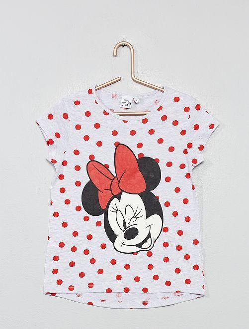 T-shirt imprimé 'Minnie'                                         gris Fille
