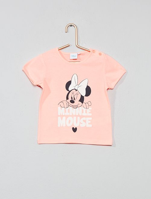 T-shirt imprimé 'Minnie'                             rose Bébé fille