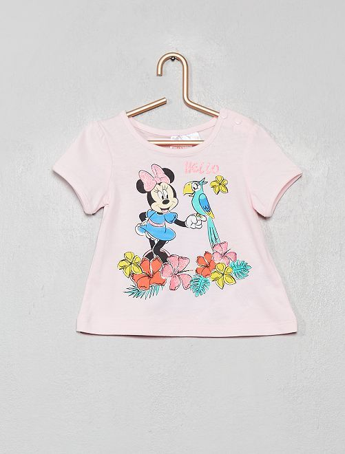 T-shirt imprimé 'Minnie'                                                     rose