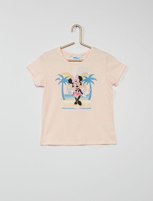 T-shirt imprimé 'Minnie'                             rose