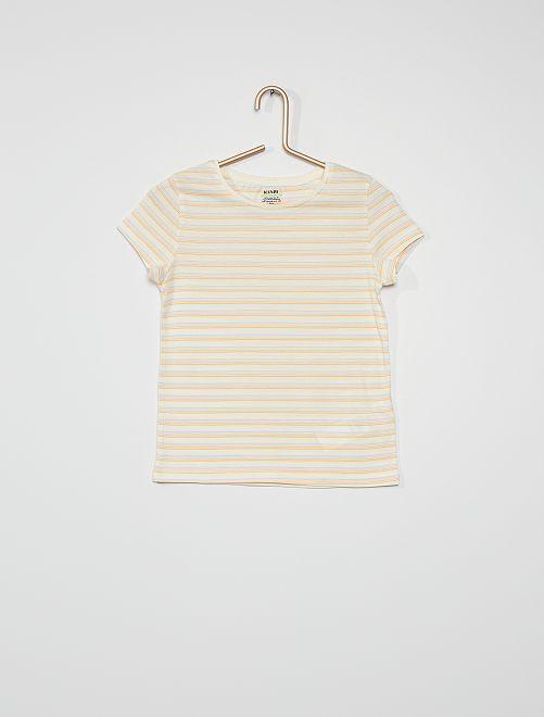 T-shirt imprimé                                                                                                                 multicolore
