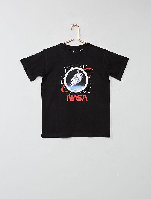 056d1d5bcf6b0 T-shirt imprimé  NASA  Garçon - noir - Kiabi - 8