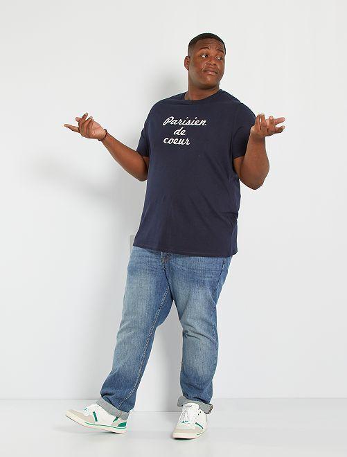 T-shirt imprimé Paris                                                     bleu marine
