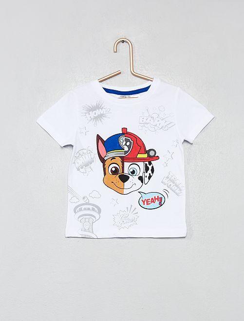 T-shirt imprimé 'Pat' Patrouille'                             blanc