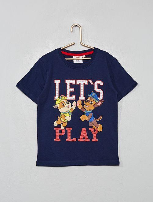 T-shirt imprimé 'Pat' Patrouille'                                                     bleu marine