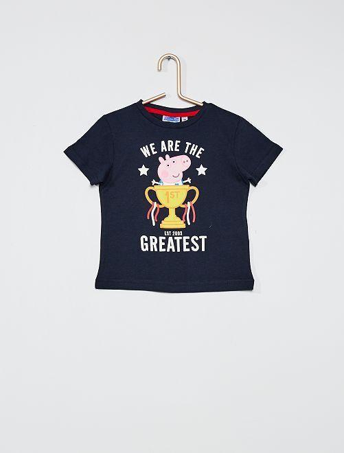 T-shirt imprimé 'Peppa Pig'                                         bleu marine
