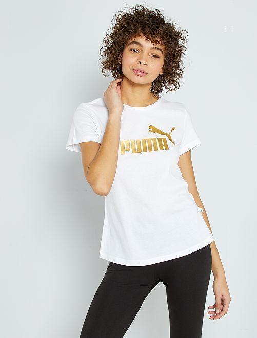 T-shirt imprimé 'Puma'                                         blanc