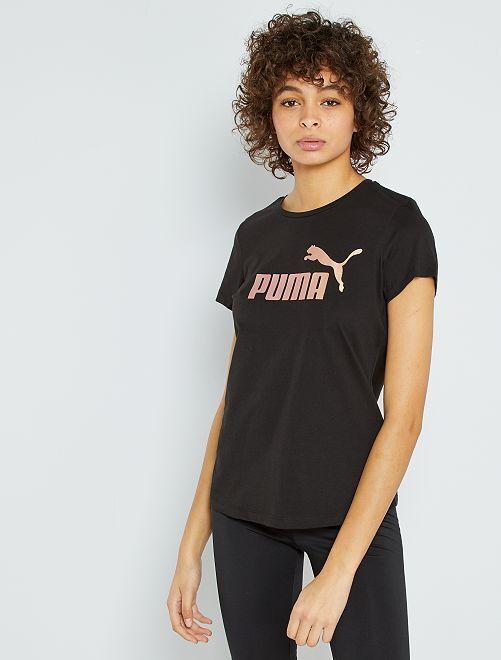 T-shirt imprimé 'Puma'                                         noir