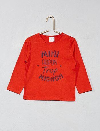 T-shirt imprimé pur coton - Kiabi 1d8119299e4