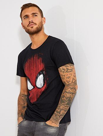 T shirt imprimé `Spider Man`