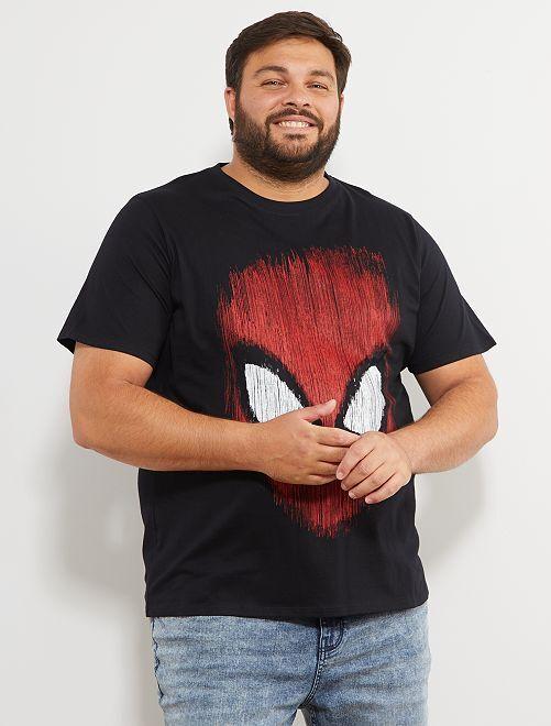 T-shirt imprimé 'Spider-Man'                             noir