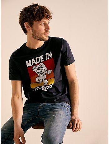 09f43a95576ce Homme du S au XXL - T-shirt imprimé 'Super Mario' - Kiabi