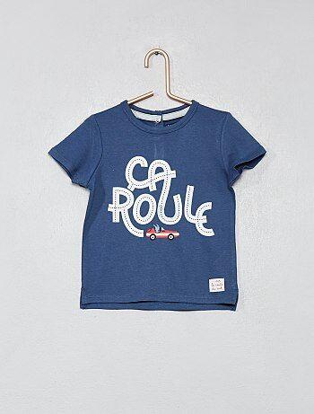 Garçon 0-36 mois - T-shirt imprimé  voiture  - Kiabi 3b3da9d2ad1