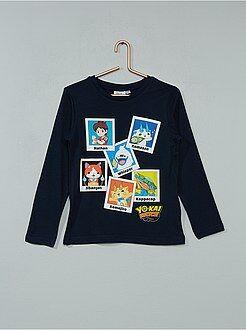 Tee shirt, polo - T-shirt imprimé 'Yo-Kai Watch'