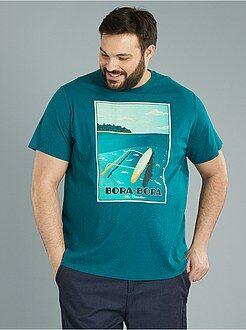 T-shirt jersey 'Bora Bora' - Kiabi