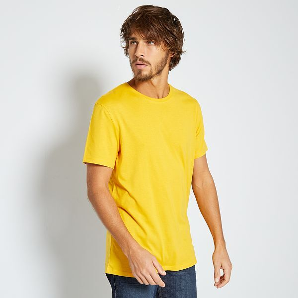 Noir Homme Premium Col V T-Shirt-Gildan 100/% Coton Uni T Shirt
