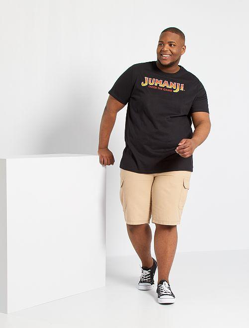 T-shirt 'Jumanji'                             noir